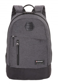 Рюкзак WENGER 13'', cерый, ткань Grey Heather/ полиэстер 600D PU , 32х16х45 см, 22 л 5319424422